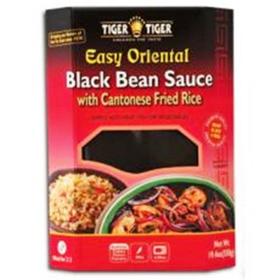 Tiger Tiger Black Bean Sauce with Cantonese Fried Brown Rice , 19.4-Ounce Boxes (Pack of 6)