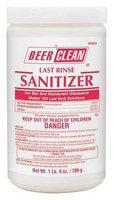 BEER CLEAN 90203 Sanitizer,25 oz, PK2
