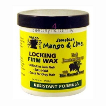 Jamaican Mango & Lime Jamaican Mango and Lime Locking Firm Hair Wax, 16 Ounce
