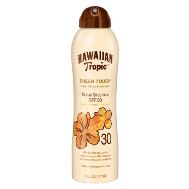 Hawaiian Tropic® Sheer Touch Clear Spray Sunscreen Broad Spectrum SPF 30
