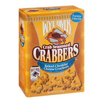 Wye River Crabbers Crackers Baked Cheddar Cheese
