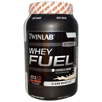 Twinlab Whey Fuel Cookies & Cream 2 lbs