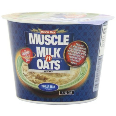Muscle Milk n' Oats Vanilla, 2.7-Ounce Cups (Pack of 6)
