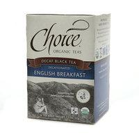 Choice Organic Teas Decaffeinated Black Tea English Breakfast