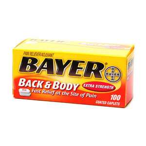 Bayer Aspirin Pain Reliever
