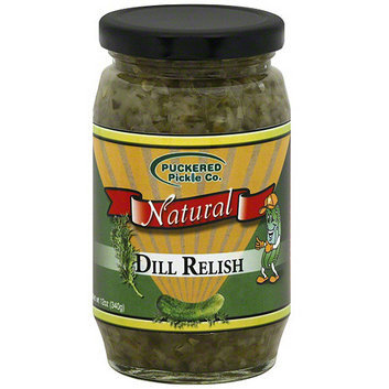 Happy Baby Puckered Pickle Co. Dill Relish