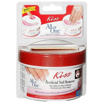 Kiss All or One Artificial Nail Remover
