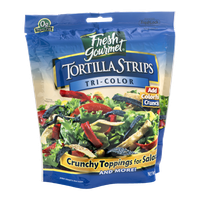 Fresh Gourmet Tortilla Strips Tri-Color
