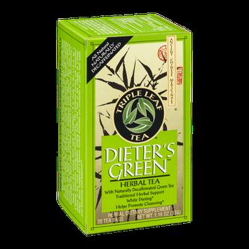 Triple Leaf Tea Dieter's Green Herbal Tea - 20 CT