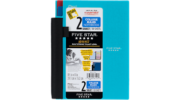 Five Star® Advance® Wirebound 2 Subject Notebook - Student Notebooks