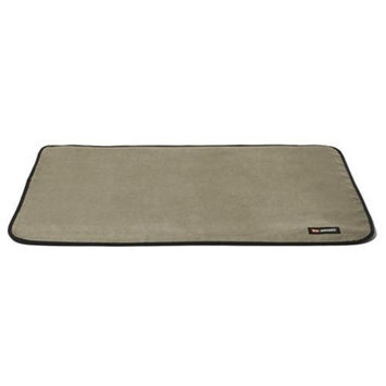 The Shrimp Team 5110 Large Landing Pad Cover in Stone Suede