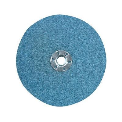 CGW Abrasives Resin Fibre Discs, Zirconia - 7x7/8 24 grit type zirkresin fibre disc (Set of 10)