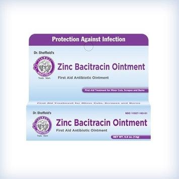 Sheffield Pharmaceuticals Dr. Sheffield's ZINC BACITRACIN OINTMENT 1/2oz.