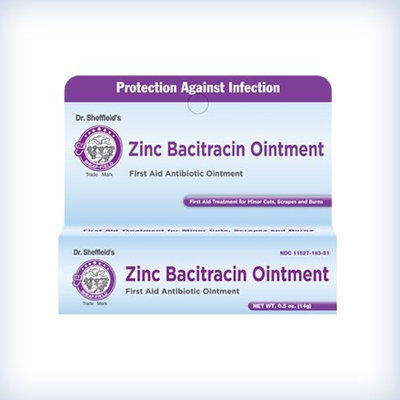 Sheffield Pharmaceuticals Dr. Sheffield's ZINC BACITRACIN OINTMENT 1/2oz.