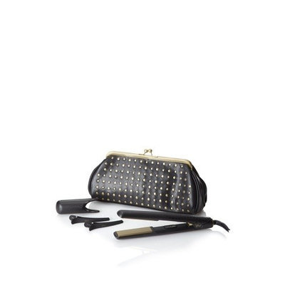 ghd Professional New Wave Limited Edition Gold Styler Set, Black, 1