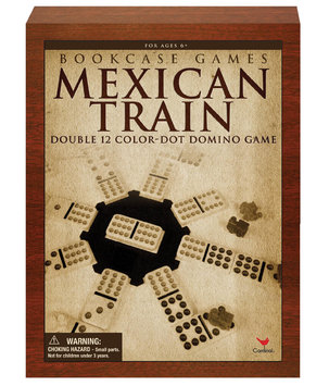 Cardinal Ind Toys Mexican Train Bookshelf Game