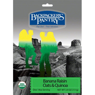Backpackers Pantry Backpacker's Pantry Organic Oats and Quinoa Cereal