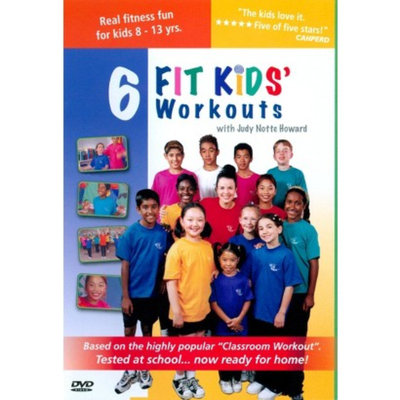 Bayview BAY835 6 Kids Fitness Workouts Fit Kids