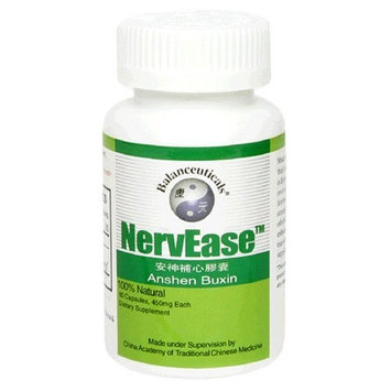 Balanceuticals NervEase Dietary Supplement Capsules, 500mg, 60-Count Bottles (Pack of 2)