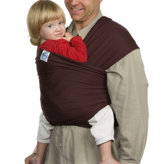 Moby Wrap Baby Carrier - Chocolate by