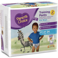 Parents Choice Parent's Choice Training Pants for Boys, Jumbo Pack (Choose Your Size)