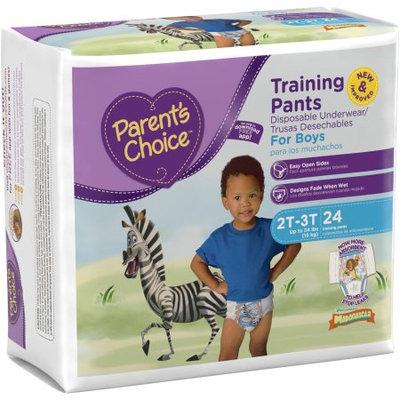 Parents Choice Parent's Choice Training Pants for Boys, Jumbo Pack (Choose Your Size)