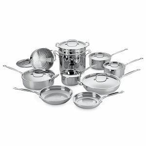Cuisinart 17-Piece Chef's Classic Cookware Set