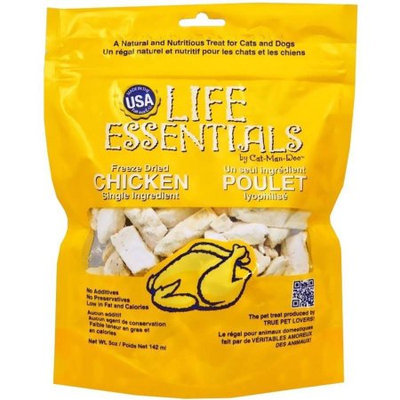 Cat-Man-Doo Freeze Dried Chicken Pet Treats (2-pack)