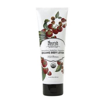 Nourish Organic Body Lotion, Wild Berries, 8 fl oz
