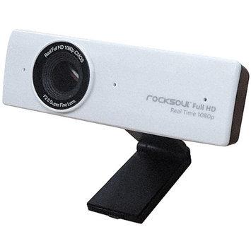 ROCKSOUL 1080P HD Webcam, White