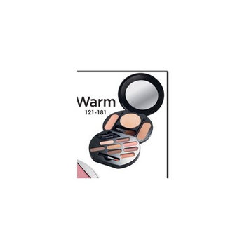 Avon Perfect Look Full Color Palette Warm Lips Cheeks Eyes Face