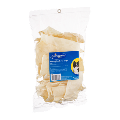 Companion Rawhide Chew Chips for Dogs