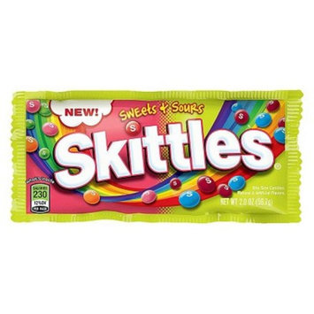 Skittles Sweets and Sours Singles 2.0 0z