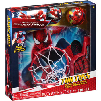 MARVEL HEROES-MARVEL Marvel The Amazing Spider-Man 2 Tub Toss Gift Set, 4 pc