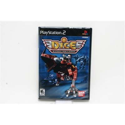 Dice: DNA Integrated Cybernetic Enterprises PlayStation 2 (PS2) Game BANDAI