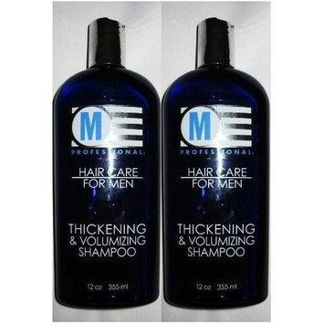 Salon Grafix M Professional Hair Care for Men Thickening & Volumizing Shampoo 12 Oz (4 Pack)