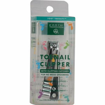 Earth Therapeutics Toenail Clipper with Catcher 1 Unit