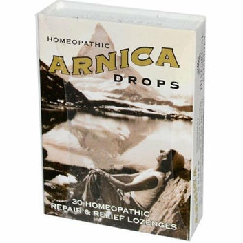 Historical Remedies Homeopathic Arnica Drops Repair and Relief Lozenges Case of 12 30 Lozenges