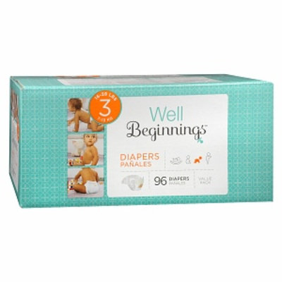 Walgreens Well Beginnings Premium Box Diapers 3