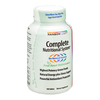 Rainbow Light Complete Nutritional System Tablets - 180 CT