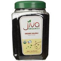 Jiva USDA Organic Raw Black Cumin Seed (Kalonji, Nigella Sativa) 1 Pound Jar