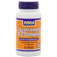 NOW Foods Tocotrienols and E Complex, 60 Softgels