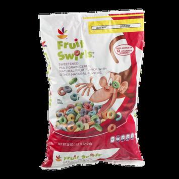 Ahold Fruit Swirls Sweetened Multigrain Cereal