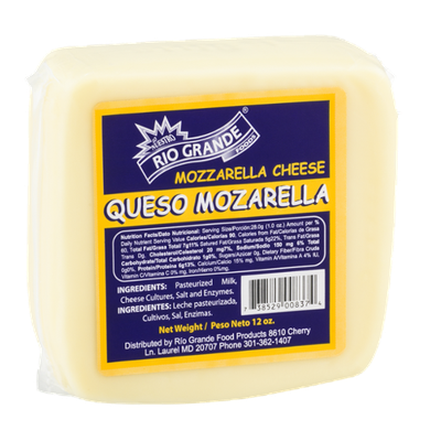 Rio Grande Mozzarella Cheese