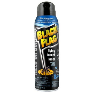 BlackFlag Black Flag 61133 Mosquito, Fly and Gnat Killer, 15-Ounce (Discontinued by Manufacturer)