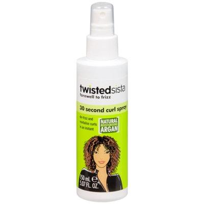 Twisted Sista 30 Second Curl Spray, 5.07 fl oz
