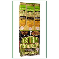 Ostrim Spicy PepperNatural Beef Sticks, 1.5-Ounce (Pack of 10)