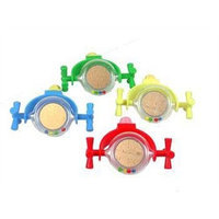JW Pet Company Activitoy Rattle Mirror Small Bird Toy, Colors Vary
