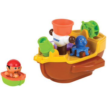 Tomy Toddler Pirate Pete's Bath Ship by TOMY Toddler
