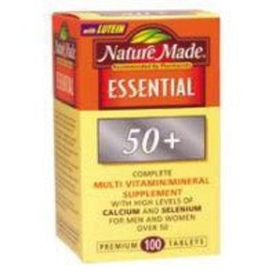MULTI VIT/MINRL ESST 50+ N-M Health and Beauty Health and Beauty